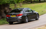 BMW 5 Series rear cornering
