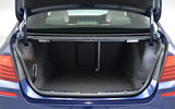 BMW 5 Series boot space