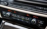 BMW 5 Series centre console