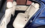 BMW 5 Series rear seats