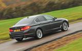 BMW 5 Series rear