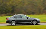 BMW 5 Series side profile