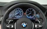 BMW 5 Series instrument cluster