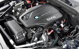2.0-litre BMW 518d Luxury engine