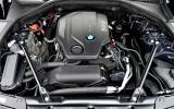 BMW 5-series diesel engine