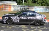 New BMW M5 uncovered