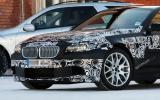 New BMW M5 spied