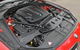 BMW 650i V8 engine