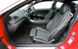 BMW 6 Series front seats