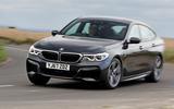 BMW 6 Series Gran Turismo cornering