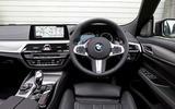 BMW 6 Series Gran Turismo dashboard