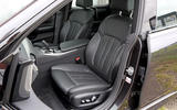 BMW 6 Series Gran Turismo comfort seats