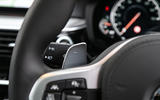 BMW 6 Series Gran Turismo paddle shifters