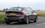 BMW 6 Series Gran Turismo rear cornering