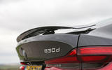 BMW 6 Series Gran Turismo rear spoiler