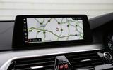 BMW 6 Series Gran Turismo sat nav screen