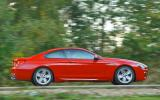 BMW 650i side profile