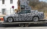 BMW 6-series coupe spied