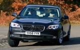 BMW 7 Series cornering