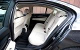 BMW 7 Series rear seats