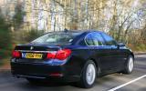 BMW 7 Series rear quarter
