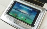 7 Series rear passenger tablet