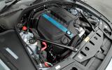 BMW ActiveHybrid 5 petrol electric engine