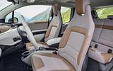 BMW i3 front seats