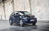 BMW i3 on the road