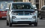 BMW i3 range extender on the road
