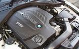 BMW M135i turbocharged 3.0-litre engine