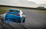 BMW M2 hard drifting