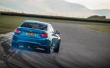 BMW M2 hard drifting