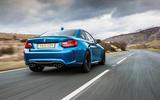 BMW M2 rear