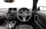 BMW M2 dashboard