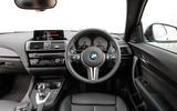 BMW M2 dashboard