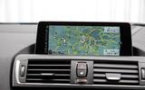 BMW M2 iDrive infotainment