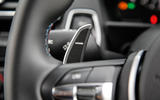BMW M2 paddle shifters