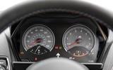 BMW M2 instrument cluster