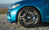 19in BMW M2 black alloys