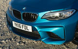 BMW M2 front diffuser