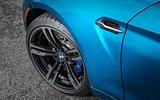 BMW M2 muscular front wheel arch