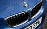BMW M235i's front grille