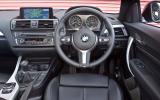 BMW M235i's interior