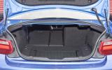BMW M235i's boot space