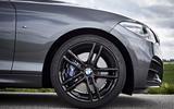 BMW M240i alloy wheels