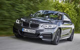 BMW M240i front quarter