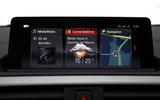 BMW M240i iDrive infotainment system