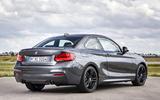 BMW M240i rear quarter