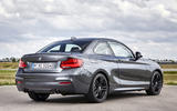 BMW M240i rear quarter